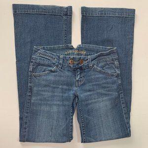American Eagle Flare/Bootcut Jeans Medium Wash 2